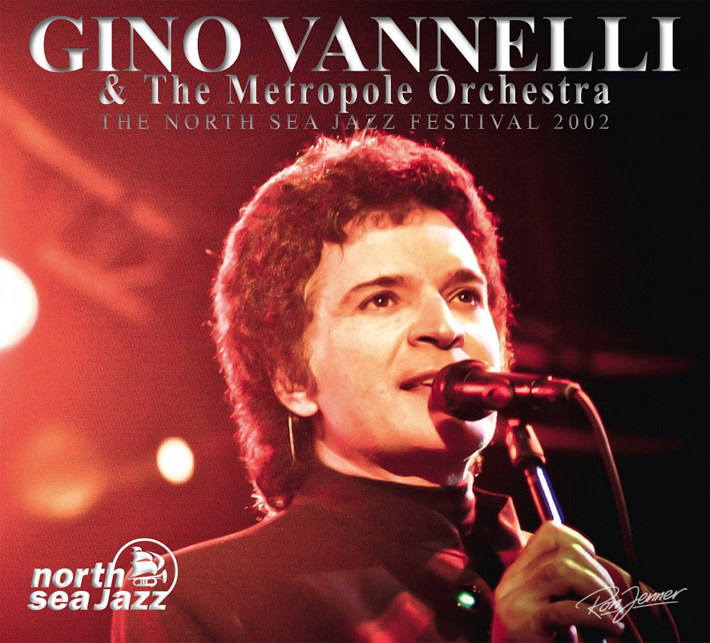 CD-Cover Gino Vannelli @North Sea Jazz-photo by Ron Jenner .com